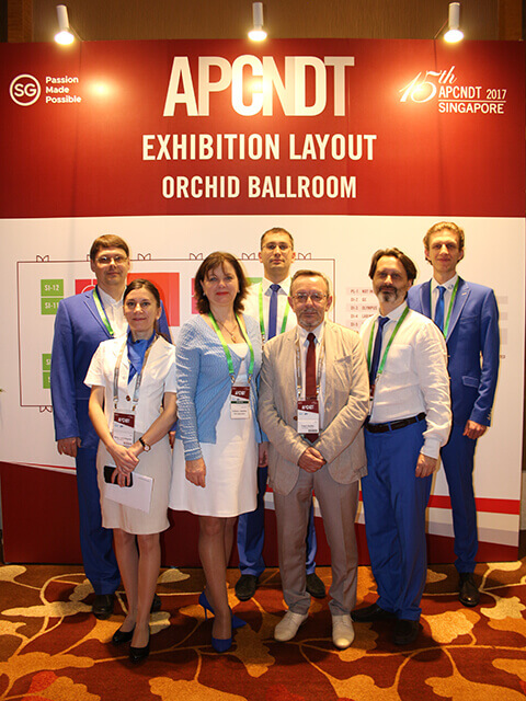 Delegates of OKOndt GROUP at the 15th Asia Pacific Conference NDT (APCNDT) in Singapore