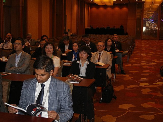 Participants of the 15th Asia Pacific Conference NDT (APCNDT) listening to the NDT colleagues' reports