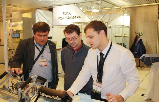Specialists of OKOndt GROUP introduce the company's products to the visitors of the European Conference on Non-Destructive Testing (ECNDT)-2014