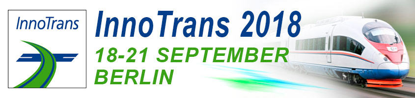 International Trade Show For Transport Technology in Germany InnoTrans-2018