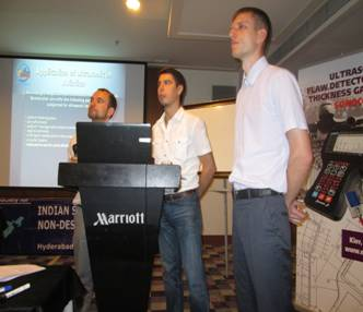 PROMPRYLAD LLC at NDE-2014 in India