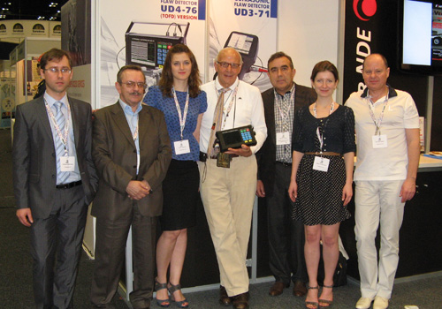 OKOndt GROUP at the 18th World Conference on Nondestructive Testing (WCNDT-2012)