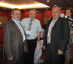 V. Radko with colleagues from the PCB