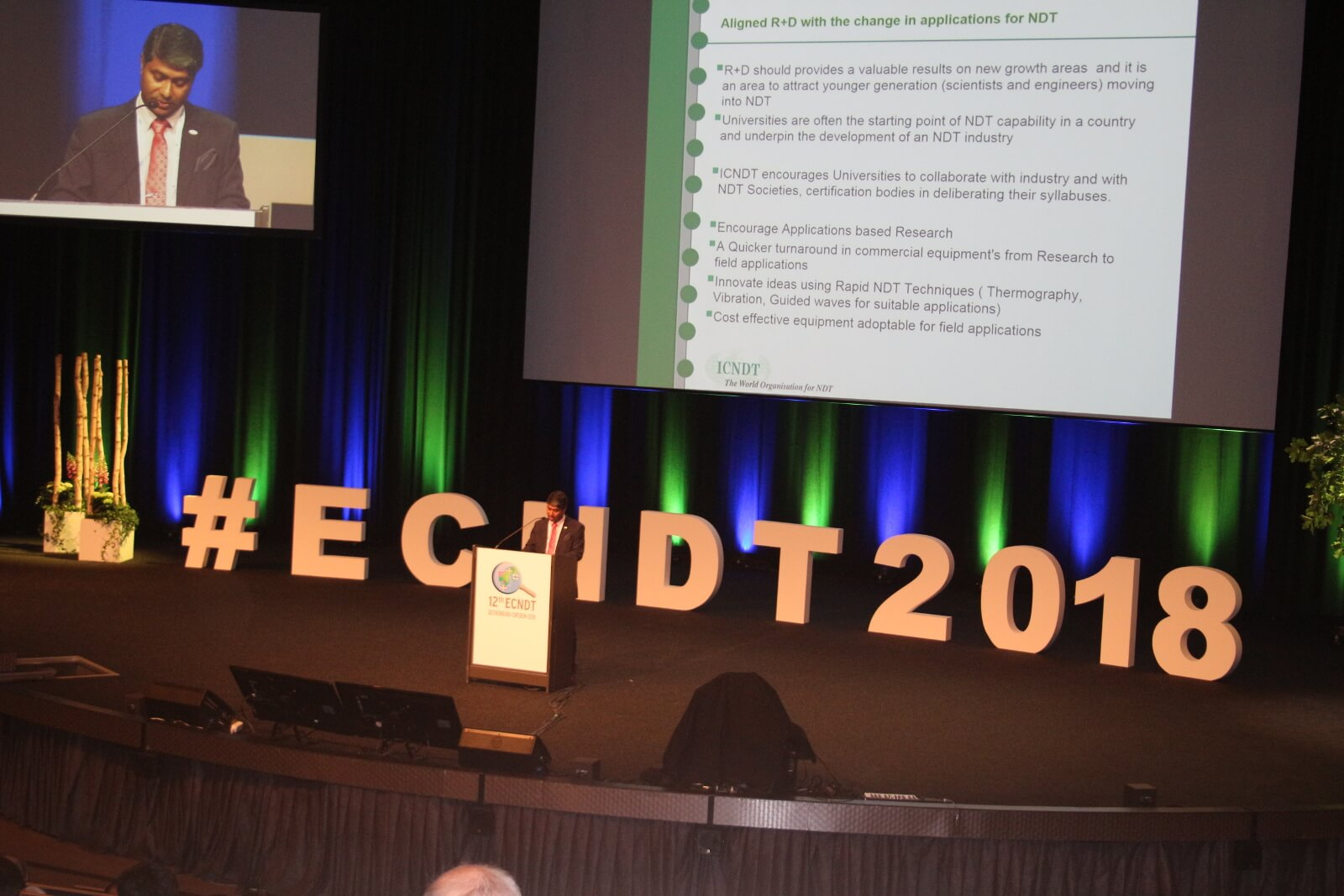 OKOndt GROUP at the European conference of NDT (ECNDT) 2018