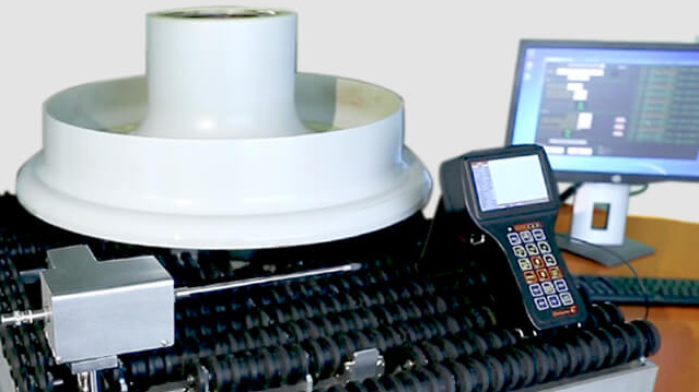 SMARTSCAN Eddy-current Aircraft Wheel Inspection System