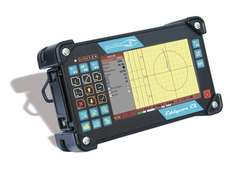 Portable eddy-current flaw detector Eddycon C & CL