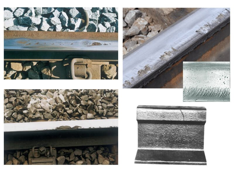 Types of rail defects