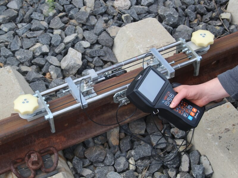 Rail welded joints Testing set USR-01