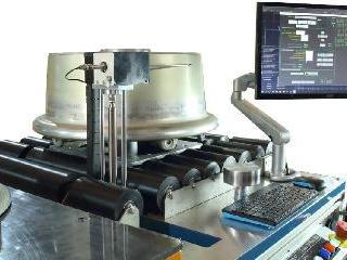 Sistema de inspección de las ruedas de aviones SMARTSCAN