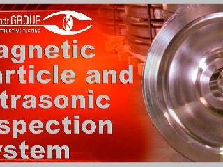 Sistema de inspección por partículas magnéticas…